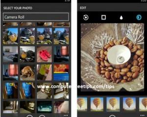Instagram Windows Phone 8
