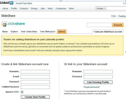 share presentation on linkedin computer free tips